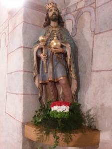Szt. István király szobor Zsolna